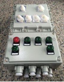 BXM53防爆照明配电箱,铸铝防爆动力箱