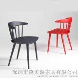 餐厅家具实木餐椅餐厅温莎椅