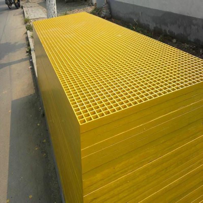 玻璃鋼格柵蓋板  塑模格柵平臺