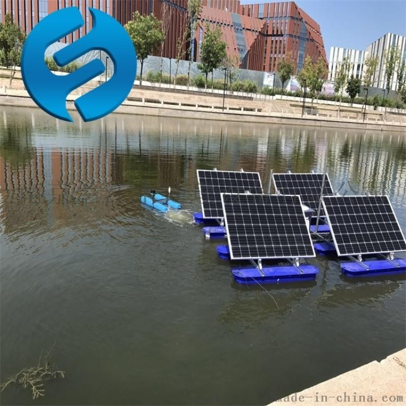 太陽能曝氣機如何固定
