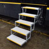 高地板房车专用电动多级折叠踏步