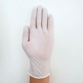 一次性劳保手套加厚pvc手套丁腈蓝色医用