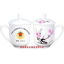 手绘景德镇陶瓷杯子,厂家供应