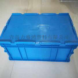 汽车配件周转箱海尔海信塑料物流箱可配盖零件箱物流箱
