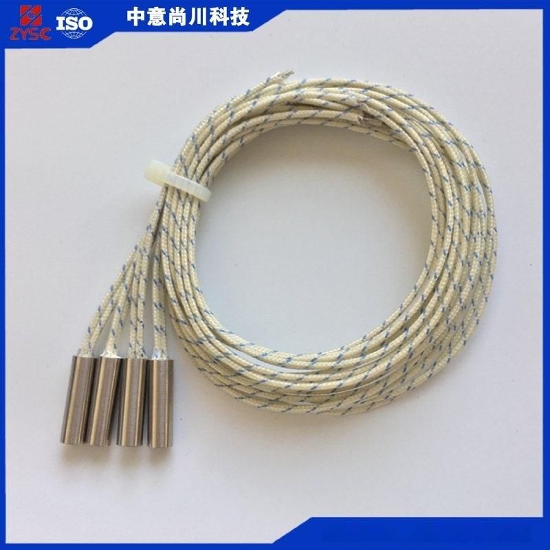 內出線直接出線微型電加熱管乾燒型單頭電熱管加熱管發加熱24v