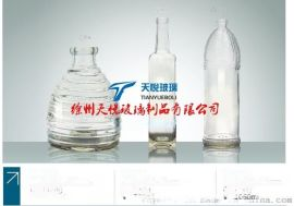 玻璃瓶廠可以定做各種玻璃制品