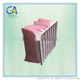 镀锌框铝框中效袋式空调过滤网 好滤料好效率