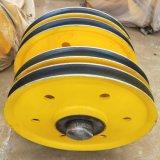 G860起重機滑輪組  滑輪組槽底500 雙輪定滑輪 省力動滑輪 原廠哈瓦洛軸承
