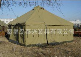秦兴供应厂家**5*5纯棉大型帆布帐篷 外贸帐野营篷 可定制