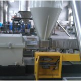 平行双螺杆滑石粉填充造粒机  塑料填充造粒机厂