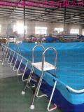 郑州全森新款支架水池 移动水上乐园组合水滑梯