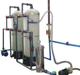 四川成都锅炉降硬度软水器4T每小时