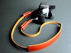 真皮相机背带 - 16