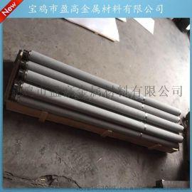 供应盈高内光型催化剂用管式1500不锈钢粉末烧结滤芯