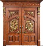 供应生产加工别墅实木门 实木墙板 书柜衣柜