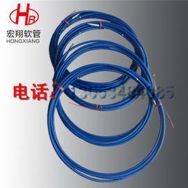 宏翔钢丝增强高压尼龙树脂软管 油脂润滑高压树脂油管