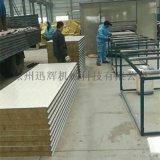 1000型彩鋼岩棉夾芯板廠房牆面板