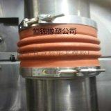 耐腐蚀硅胶管 耐高温硅胶管 红白色硅胶软连接