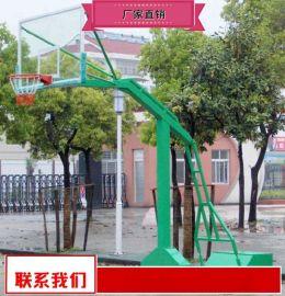 平箱篮球架奥   器材 公园篮球架生产厂家