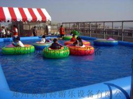 河北买一个大型充气水池里面放手摇船经营
