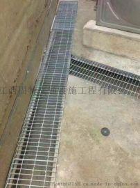 南昌厂家永修沟盖板 镀锌踏步钢格板 走道钢格栅板