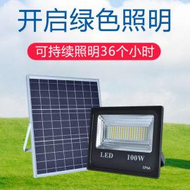 太阳能LED灯庭院户外灯投光灯