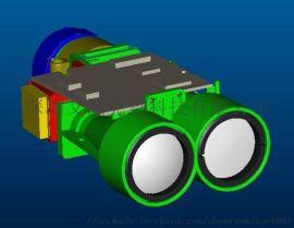 1000M激光测距测速测高测角传感器 测距模块