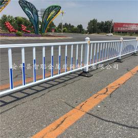 学校道路护栏@现代化学校专用隔离护栏@学校公路护栏