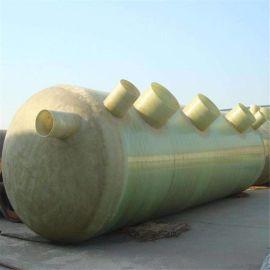 6立方化粪池 玻璃钢防腐化粪池 处理污水化粪池类型