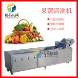 定製果蔬流水線 淨菜氣泡清洗機