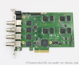 金微视4路高清SDI采集卡JWS-X4-SDI高清SDI采集卡