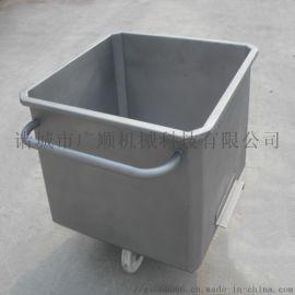 专业定制小料车 不锈钢肉食品料斗车