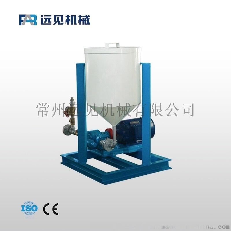 遠見機械牌飼料廠油脂添加設備 簡易油脂添加機
