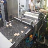 藕合裹粉機 自動化藕合油炸生產線 藕夾掛糊設備