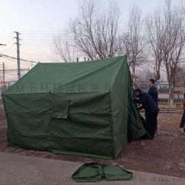 北京3*3有机硅帆布帐篷军用帐篷部队班用帐篷