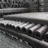耐磨橡胶道口铺面板 p50p60铁路橡胶道口板