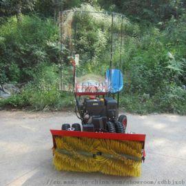 道路清理扫雪机,手扶式小型清雪机,滚刷式清雪机