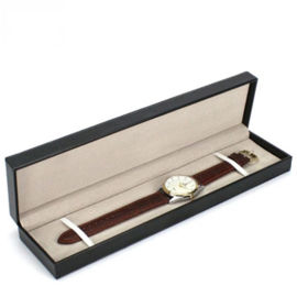 pu皮手表盒 长方形手表盒 项链钢笔礼品盒包装
