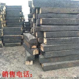 防腐枕木材质 防腐枕木处理工艺 落叶松道岔枕木