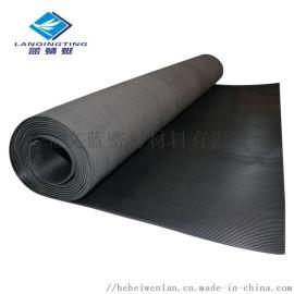 细条纹橡胶板 防滑防潮防水橡胶地垫