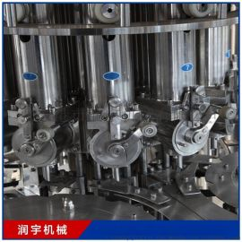 润滑油自动灌装生产线 5升柱塞式油品灌装机