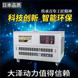 大泽动力TOTO10静音汽油发电机永磁电机