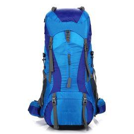 時尚男女戶外新款專業登山包時尚男女野營雙肩包大容量休閒戶外雙