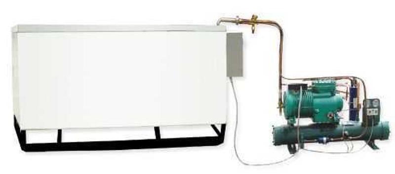 水冷式冷冻机   饮料机械 生产线设备