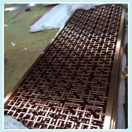 深圳不鏽鋼屏風加工定制欧式酒店学校商场装饰屏风工厂