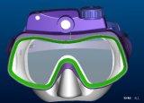 带数码相机的潜水镜(HK-100)