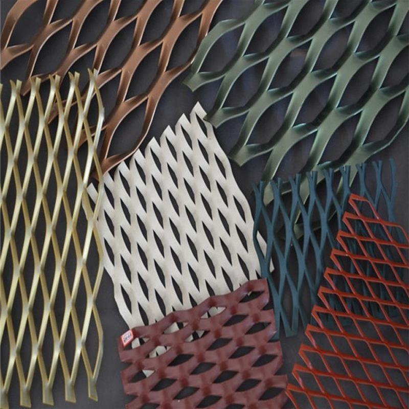 装饰铝板网 建筑模板铝板网 装修材料铝板网