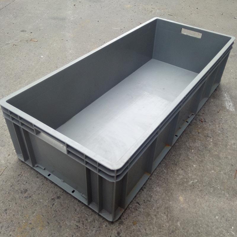 塑料周转箱,塑料灰色周转箱,塑料加厚物流箱