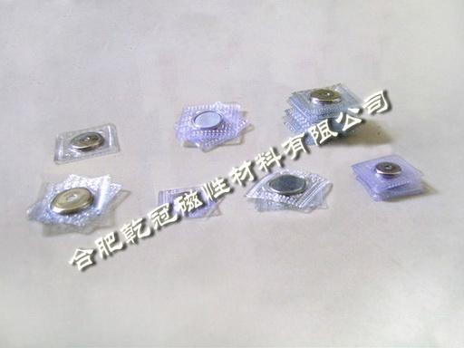 PVC磁扣 單面磁鐵 包裝玩具強磁鐵