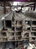專業生產機械結構用不鏽鋼焊接鋼管 廣州拉絲不鏽鋼方管